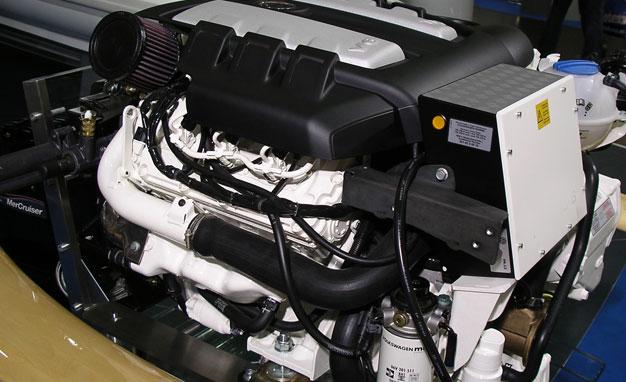 Volkswagen car Engine