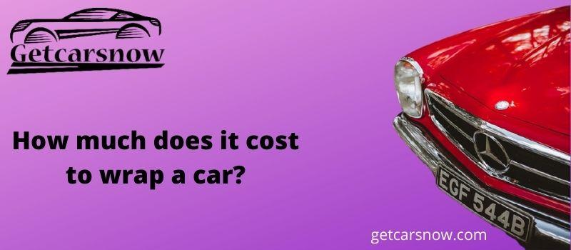 wrap a car