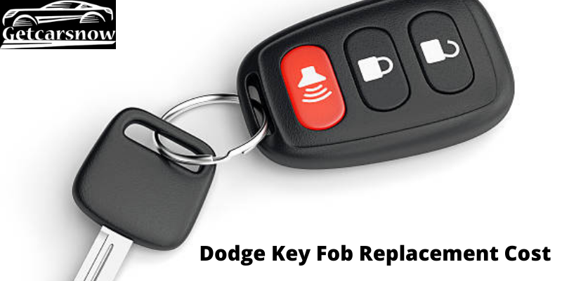 Dodge Key Fob Replacement Cost