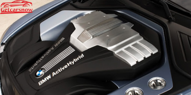 BMW Active Hybrid 5 Engine
