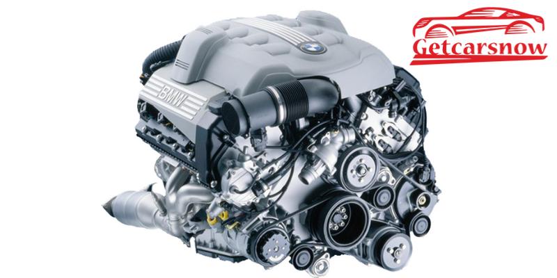 BMW 545i Engine