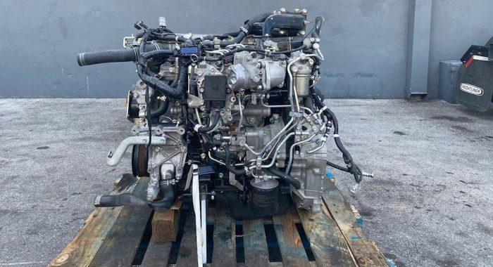 2016 Isuzu 4HK1TC Diesel Engine