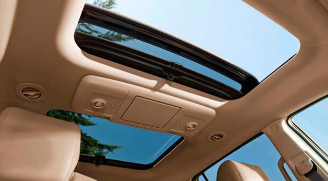 sunroof and convertible top motor
